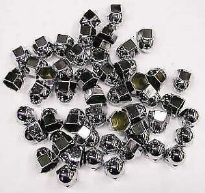 Chrome Engine Head Nut Covers For Ford Flathead