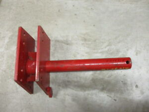 White Agco Plow Post 218359b