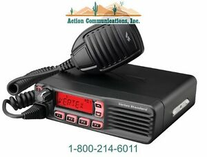New Vertex standard Vx 4600 Uhf 450 512 Mhz 45 Watt 512 Channel Two Way Radio