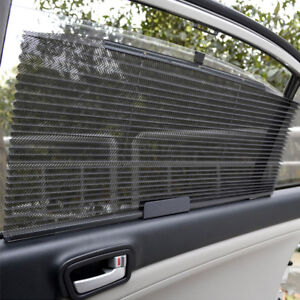 Car Retractable Curtain With Uv Protection Side Window Visor Auto Shade