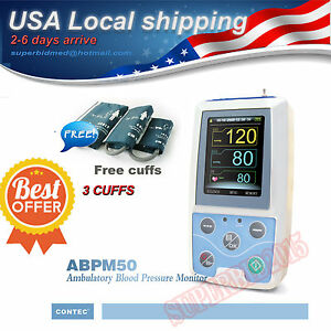 Usa Sell Contec Ambulatory Blood Pressure Monitor Software 24h Nibp Holter Abpm