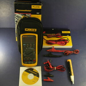 New Fluke 787 Processmeter Screen Protector Box Accessories
