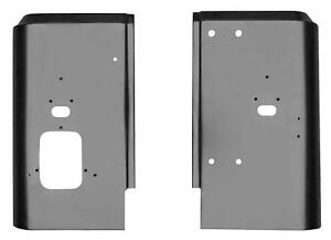 Rear Corner Panel For 87 95 Jeep Wrangler Yj Pair