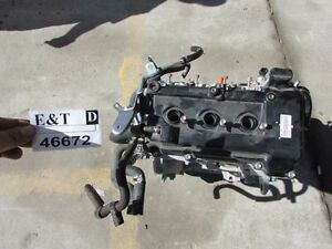 2014 2015 Mitsubishi Mirage 1 2l Engine 3 Cylinder Assembly Runs Great Low Miles