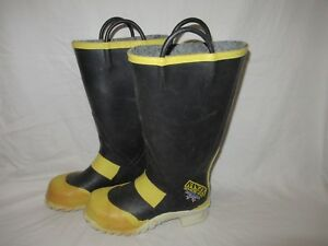 Ranger Shoe fit Firefighter Boots Size Men s 7 Medium Good Condition