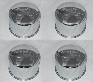 4 Cap Deal 8 Lug Eagle Alloys Wheel Rim 5 12 Bore Center Cap Acc 3176 06 Chrome