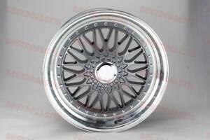 19 Staggered Rs Style Grey Face Lipped Rims Fits Bmw 11 5 Series F10 E90 E92
