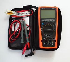 Vici Vc99 3 6 7 Auto Range Digital Multimeter With Bag Fluke Lead