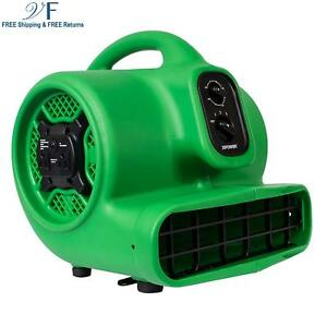 Xpower P 430at 1 3 Hp Air Mover Carpet Dryer Blower Fan With Timer Dual Power