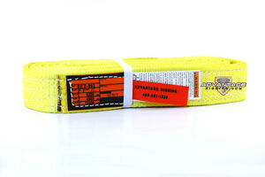 Ee2 902 12 Nylon Lifting Sling Strap 2 Inch 2 Ply 12 Foot Feet Length