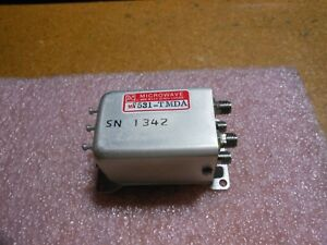 M a com Microwave Rf Switch Part Ma7531 tmda Nsn 5985 01 031 7167