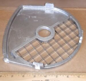 Waring Fp2200 Food Processor 3 4 Dicing Plate Caf25 Ships Free