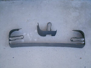 1992 Ford Mustang Gt Front L H Driver Power Seat Track Cover Panels