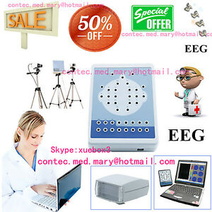Digital Portable Eeg Machine And Mapping System 16 channel Eeg kt88 3y Warranty