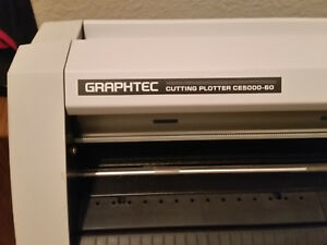 Graphtec Ce5000 60 Vinyl Cutter Plotter With Stand Light Used