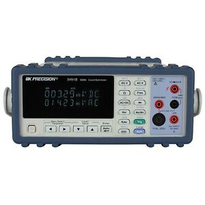 Bk Precision 5491b 50 000 Count True Rms Bench Digital Multimeter