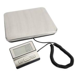 Weigh Digital Shipping Postal Scale Heavy Duty 100kg 50g Portable Scale
