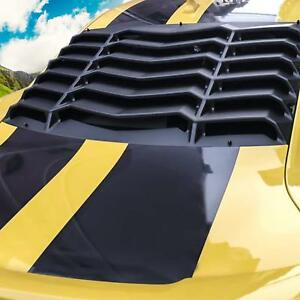 Rear Window Louver Sunshade Shade Cover Kit For Chevy Chevrolet Camaro 2010 2015