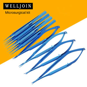 Titanium Microsurgery Ophthalmic Equipment Medical Surgical Instrument