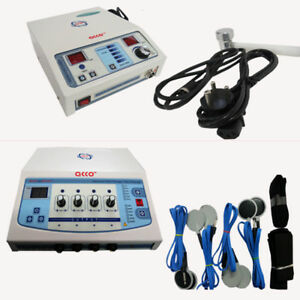 Portable Electrical Stimulator Ultrasound Therapy Electrotherapy Physiotherapy