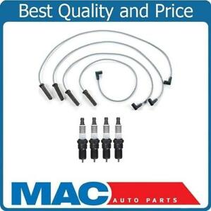 Ignition Spark Plug Wire Set Platinum Plugs For 98 03 Chevy S10 2 2l Pick Up