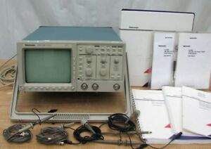 Nice Tektronix Tds 320 2 Channel Digital Oscilloscope 100 Mhz 500 Ms s W Probes