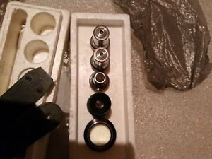 Set Of 5 Pieces Eyepieces For The Microscope Lomo