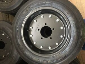Aircraft Tire Recap W rim 5 Hole mo2487