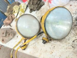 Vintage Old Truck Tractor Headlights Grader Wrecker Vintage Lights 7 Rat Rod