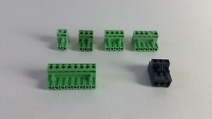 144 Assorted Phoenix Connectors For Ddc Controllers 102 2 pin 30 3 pin Others