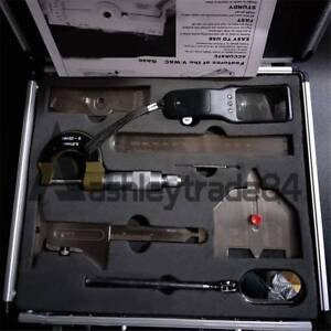 New Stainless Steel Welding Measure Gauge Tool Kits Combine Suit 7 Pieces