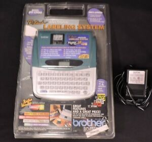 New Brother P touch Pt 1700 Se Label Printer Maker Power Cord Tape