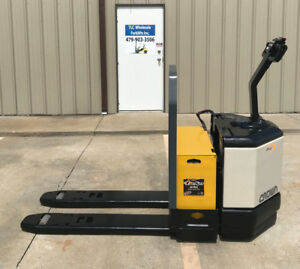 Crown Electric Pallet Jack Model Pw3520 60 Walkie Only 3078 Hours