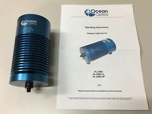 Ocean Optics Halogen Light Source Hl 2000 In Excellent Condition Free Shipping