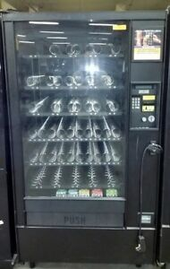 5 Automatic Products Ap Vending Machines And 5 Rowe Snack Soda Gum Etc