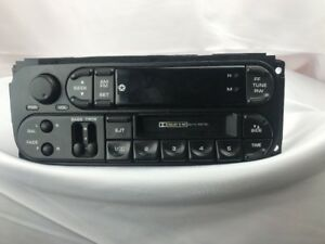 Used 1999 2001 Oem Dodge Chrysler 300m Town Country T C Jeep Cassette Radio 300