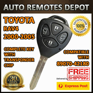 Remote Keyless Entry Key Transmitter Fob For Toyota Rav4 Rav 4 89070 42180 Chip
