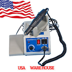 Dental 35k Rpm Marathon Electric Micromotor Polishing Unit Handpiece burs Usa