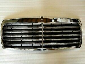 1982 1993 For Mercedes W201 190e 190d Assembly Black Grille With Chrome Frame