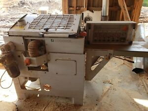 Logosol 4 cutter Moulder With Variable Feed Rate