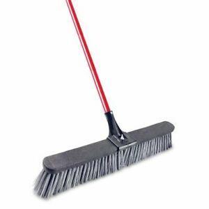 Libman 24 Rough Surface Push Broom 4 Brooms lib 00879