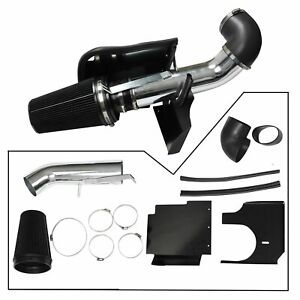 For 99 06 Gmc Chevy V8 4 8l 5 3l 6 0l 4 Cold Air Intake System Kit heat Shield