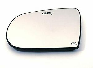 Fits 17 19 Jp Compass Left Driver Heated Mirror Glass Holder Oe 2 Options
