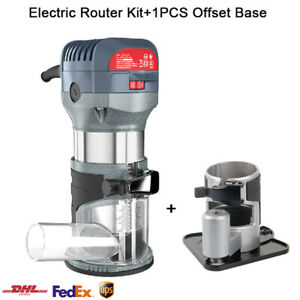 Compact Router Kit Electric Wood Woodworking Machine Power Tool