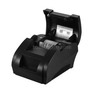 Wireless Bluetooth Thermal Receipt Printer 58mm Line Mobile Esc pos Android K7y0