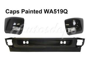 Painted Wa519q Front Bumper Caps Fog Light Valance For Silverado 1500 2008 2010