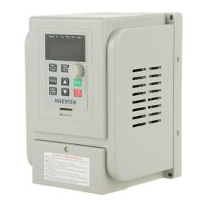 220v 2hp 1 5kw Single Phase To Three phase Output Frequency Converter Vfd Vsd