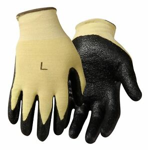 Steiner 1483 s Nitrile Palm Made With Kevlar String Knit Gloves Cut Resistant