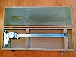 Mitutoyo 505 645 50 Dial Caliper Stainless Hardened 0 12 0 300mm 001graduation