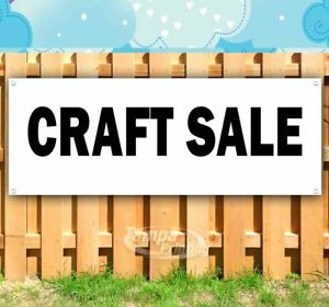 Craft Sale Advertising Vinyl Banner Flag Sign Many Sizes